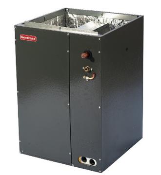 Воздушное отопление и охлаждение,Испарители