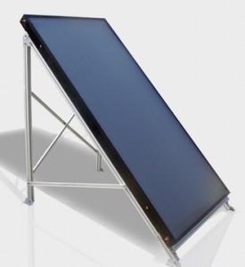 Солнечный плоский коллектор