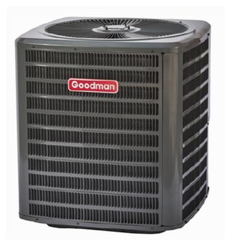 Воздушное отопление и охлаждение,Конденсаторы