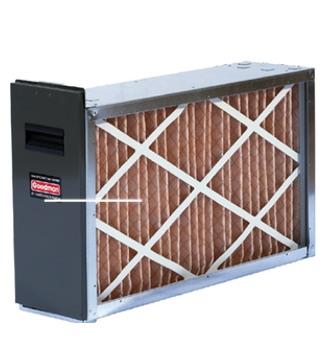 Воздушное отопление и охлаждение,Фильтры